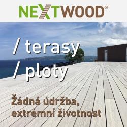 Materiály pro terasy, podlahy, zábradlí a ploty